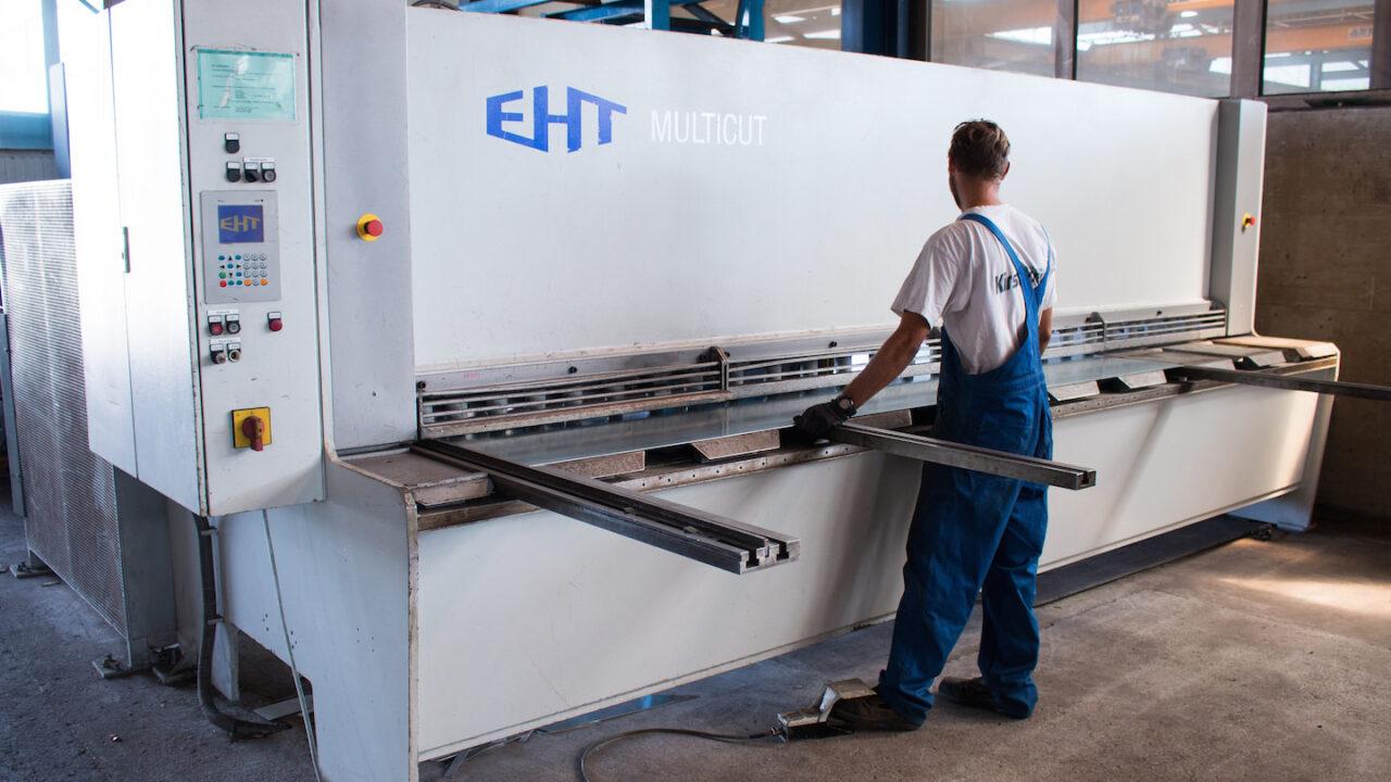 EHT multicut-Stahlbau Kirschner - Ihr zuverlässiger Partner für Stahl, Edelstahl und Aluminium