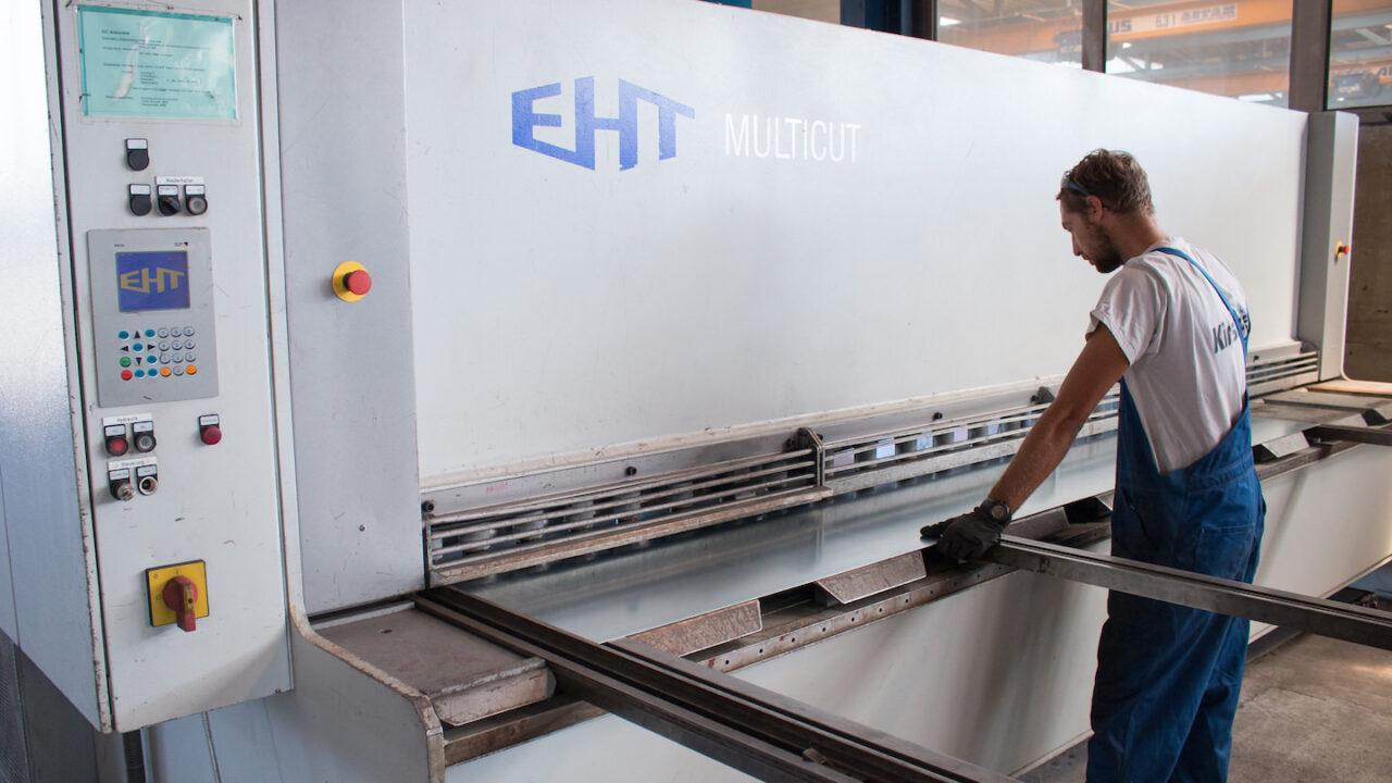 EHT multicut - Stahlbau Kirschner - Ihr zuverlässiger Partner für Stahl, Edelstahl und Aluminium