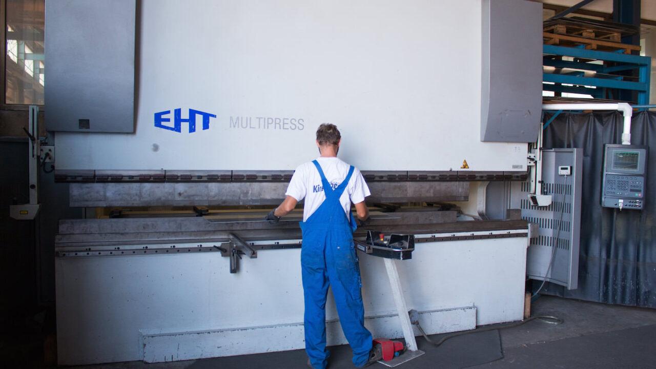 EHT multipress -Stahlbau Kirschner - Ihr zuverlässiger Partner für Stahl, Edelstahl und Aluminium